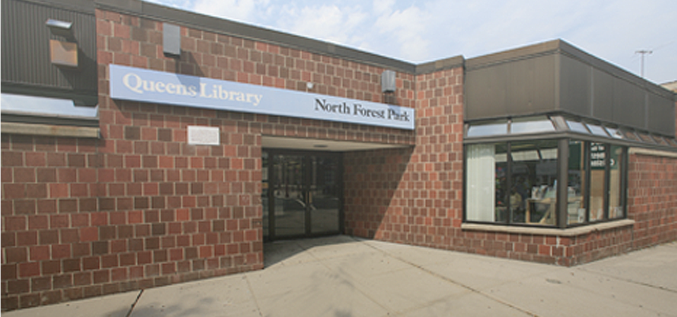 North Forest Park Library: 1972