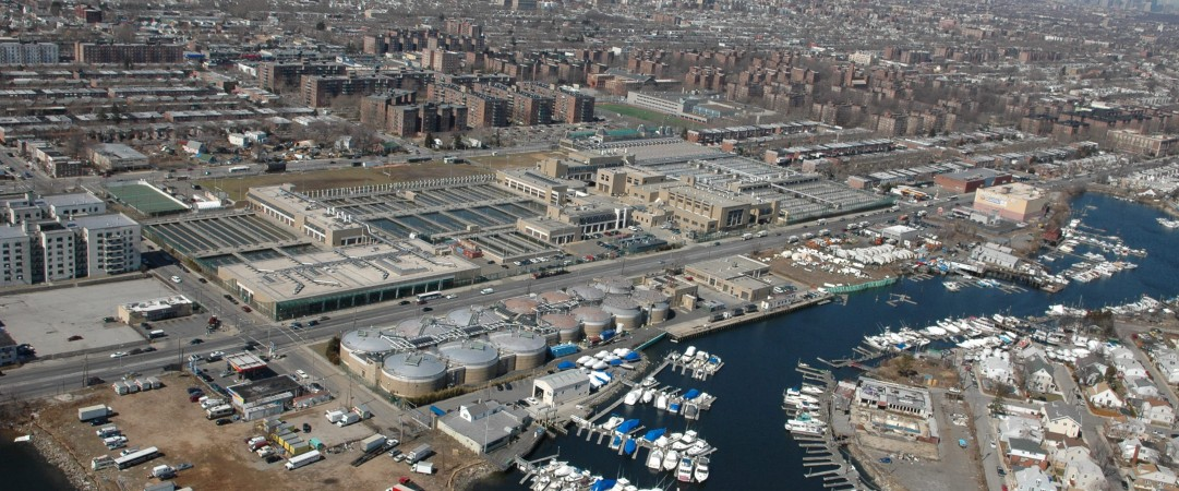 Coney Island Sewer Treatment Plant – Contract 7G: 1994