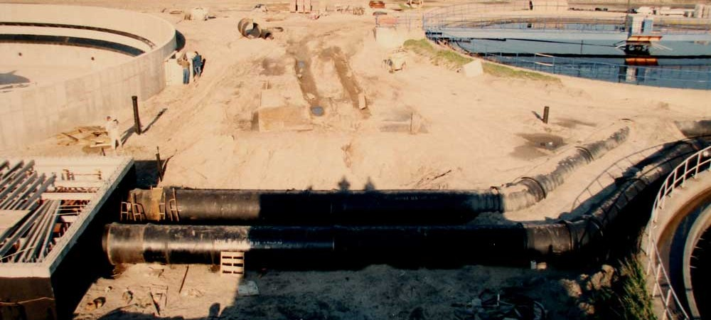 Bergen Point Sewer Treatment Plant: 1996