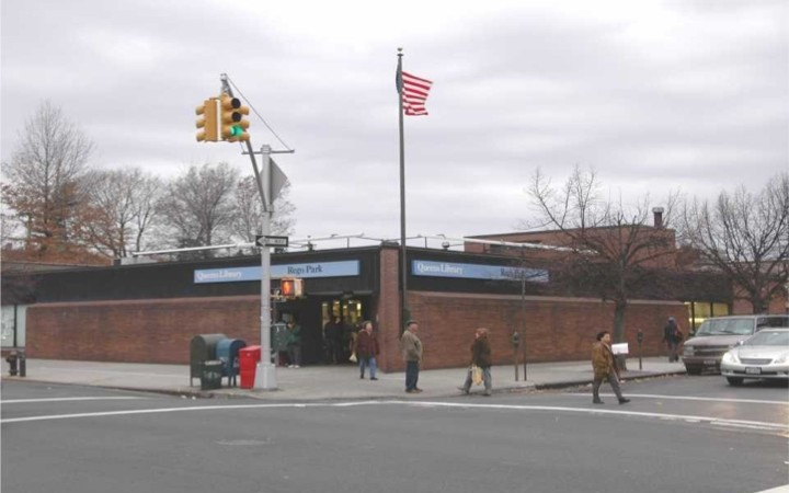 Rego Park Branch Library: 1974